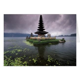 Cartes L'Indonésie, Bali, temple d'Ulun Danu