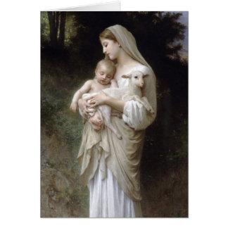 Cartes L'Innocence, William-Adolphe Bouguereau