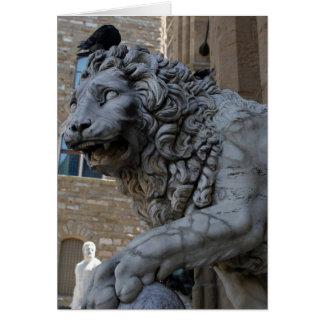 Cartes Lion au bungalow Dei Lanzi
