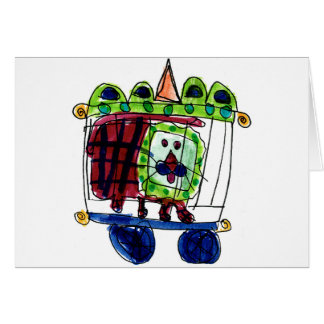 Cartes Lion de cirque • Daneille Brito, âge 6