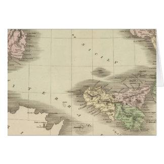 Cartes L'Italie du sud 2