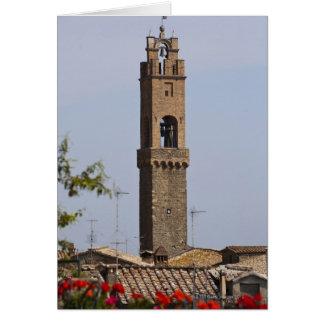 Cartes L'Italie. La Toscane. Montalcino