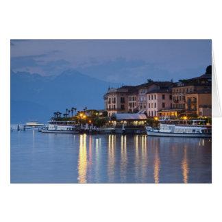 Cartes L'Italie, province de Como, Bellagio. Vue de