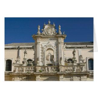 Cartes L'Italie, Puglia, Lecce, Piazza del Duomo, Palazzo