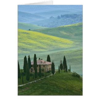 Cartes L'Italie, Toscane. Le belvédère ou beau