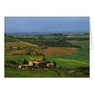 Cartes L'Italie, Toscane. Pittoresque du d'Orcia de Val