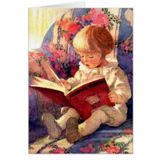 Cartes Livre animal de lecture de bébé, cru