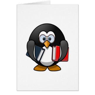 Cartes Livres de transport de pingouin