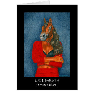 Cartes Liz Clydesdale (jument de mode)