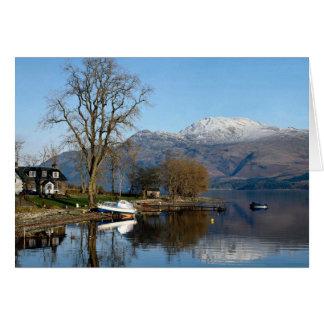 Cartes Loch Lomond, Ecosse centrale