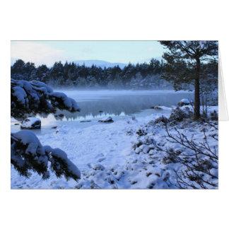 Cartes Loch Morlich, Ecosse