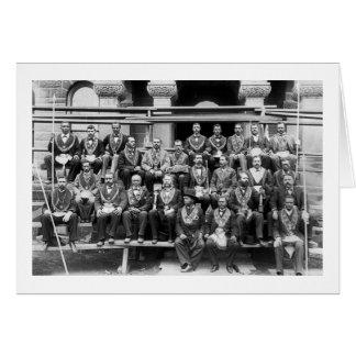 Cartes Loge grande des maçons, 1897