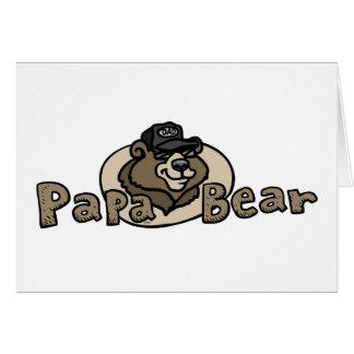 Cartes Logo 2013 d'ours de papa