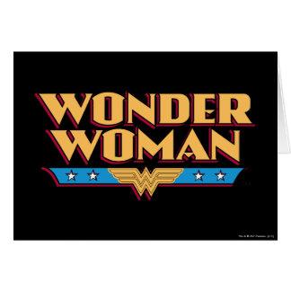 Cartes Logo 2 de femme de merveille