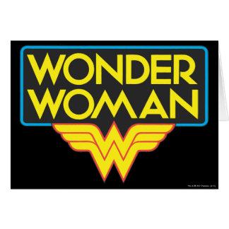 Cartes Logo 3 de femme de merveille