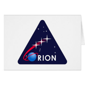 Cartes Logo de la NASA Orion