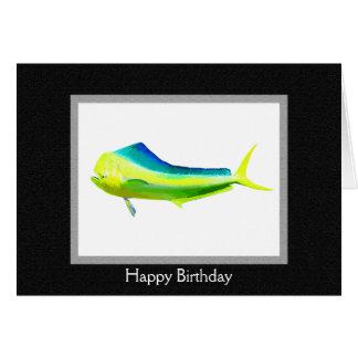 Cartes Logo de poissons de Mahi Mahi