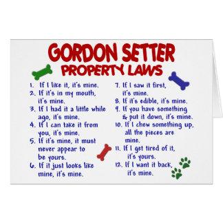 Cartes Lois 2 de propriété de POSEUR de GORDON