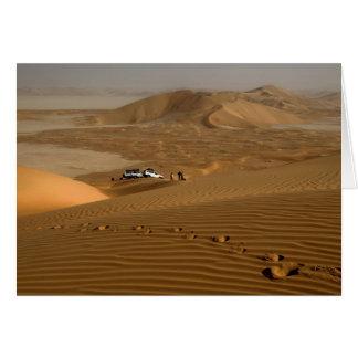 Cartes L'Oman, désert de Khali d'Al de bande de