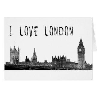 Cartes Londres