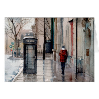 Cartes Londres sous la pluie