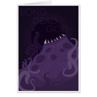 Cartes Long Dieu mort - vieux dieux de culte