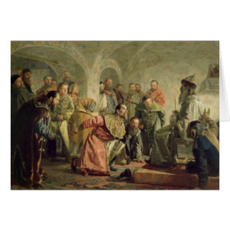 Cartes L'Oprichnina à la cour d'Ivan IV