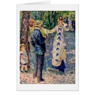 Cartes L'oscillation par Pierre-Auguste Renoir