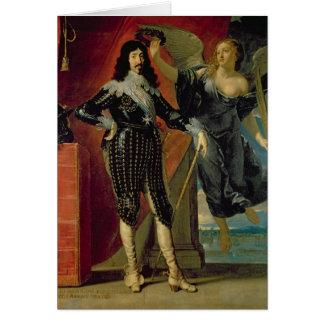 Cartes Louis XIII couronné par victoire, 1635