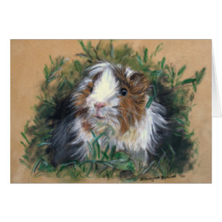 Cartes Lovin'lavender Guinea Pig/cobaye