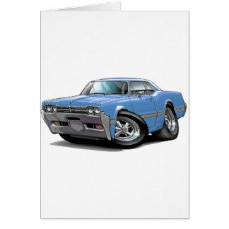 Cartes Lt 1966 de sabre d'abordage d'Olds Blue Car