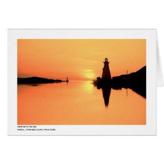 Cartes Lumière de port de Mabou