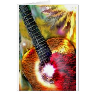 Cartes Lumière du soleil de flamenco