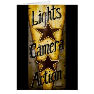 Cartes Lumières, appareil-photo, action