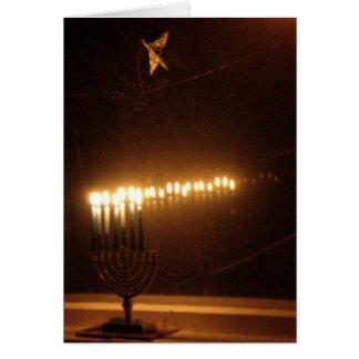 Cartes Lumières de Hanukah