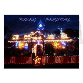 Cartes Lumières de Noël