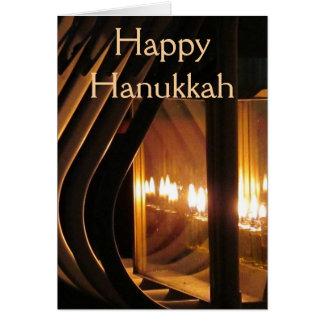 Cartes Lumières heureuses de Hanoukka
