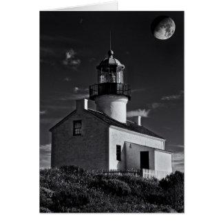 Cartes Lune au-dessus de Point Loma