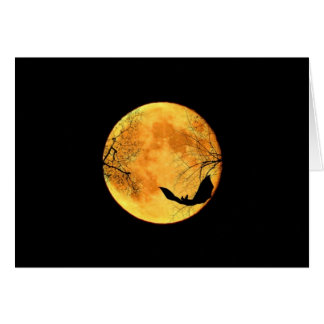 Cartes Lune de Halloween