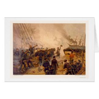Cartes L'USS Kearsarge descend le CSS Alabama en 1864