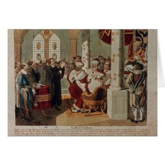 Cartes Luther au régime des vers