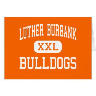 Cartes Luther Burbank - bouledogues - haut - San Antonio