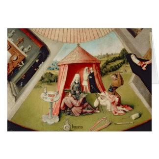 Cartes Luxe, détail du Tableau des sept