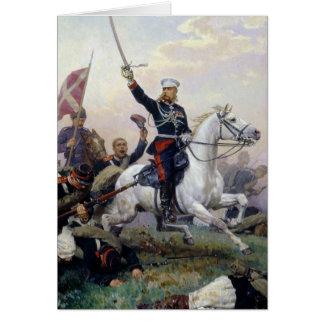 Cartes M.D. Skobelev général dans le Russe-Turc