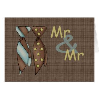 Cartes M. et M., épouser de deux mariés