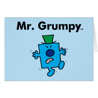 Cartes M. Grumpy de M. Men | est un bougon