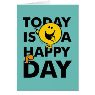 Cartes M. Happy | est aujourd'hui un jour heureux