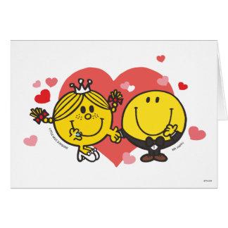 Cartes M. Happy et petite Mlle Sunshine Wedding