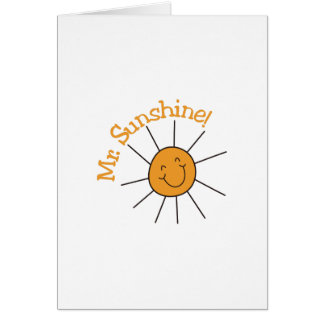 Cartes M. Sunshine