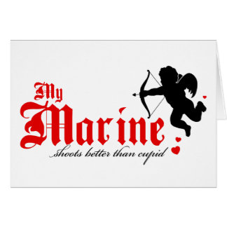 Cartes Ma marine tire mieux que le cupidon